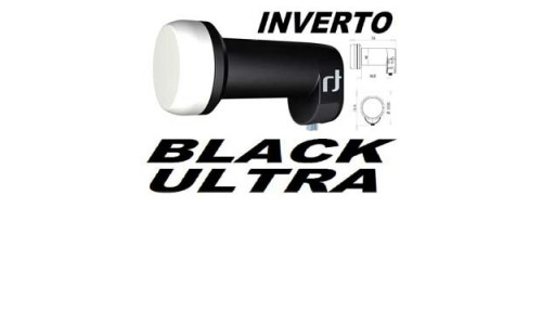LNB UNIV. OFFSET 1-Saída 0.2DBS Inverto Bk Ultra