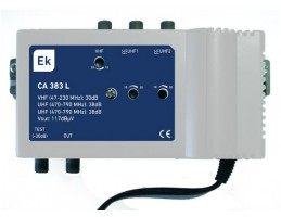 CENTRAL AMPLIF. VHF+2UHF 34/38Dbs