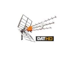 ANTENA UHF DATHD boss TECH Lte C/Dipolo activo