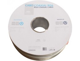 CABO COAXIAL RG-6  Rolo.100m