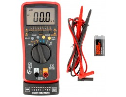 Multimetro Digital Escala Auto+cable tester