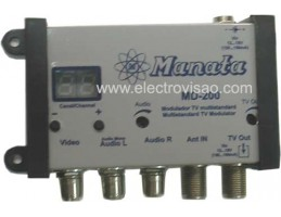 Modulador VHF/UHF Manata MD200