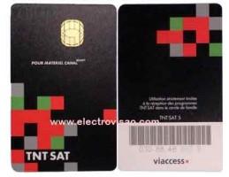 Cartão TNT SAT (canais franceses)