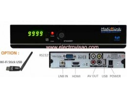 BOX Multimedia SAT + IPTV WI-FI