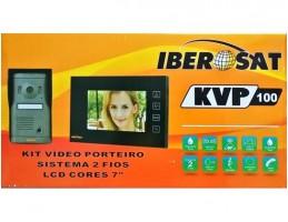 "Kit Videoporteiro Iberosat 7"" Cores"