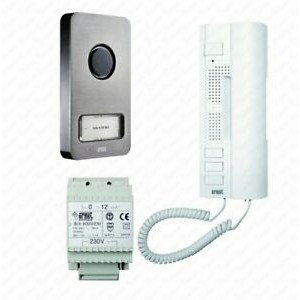Kit telefone porta Kit telefone porta Monofamiliar 2 Fios