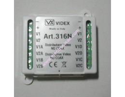 Derivador de Vídeo 4 Saídas 316 VIDEX